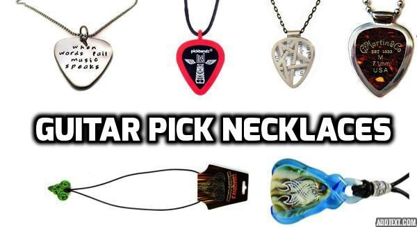 The Best Guitar Pick Necklace