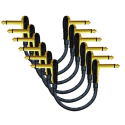 set of mogami gold pedal cables