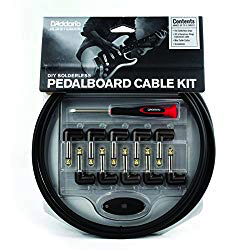diy solderless cable kit for pedals