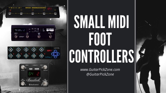 5 Of The Best Small Midi Foot Controllers | Guitar Pick Zone