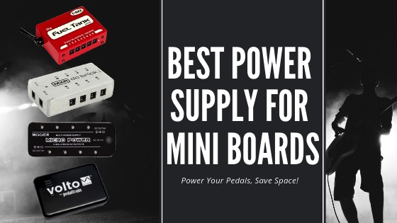 best small power supply for pedalboard