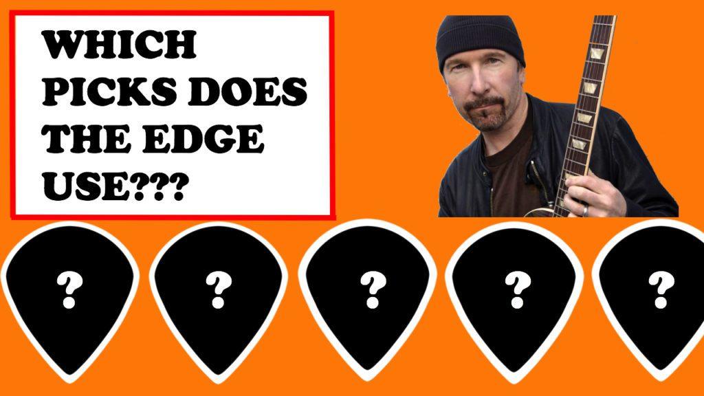 the edge guitar picks
