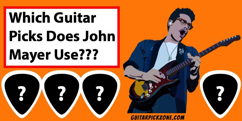 john mayer guitar picks