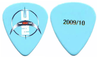 other guitar picks used by the edge