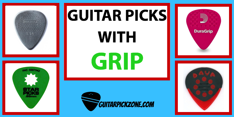 guitar picks with grip