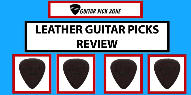 leather guitar picks review skintone