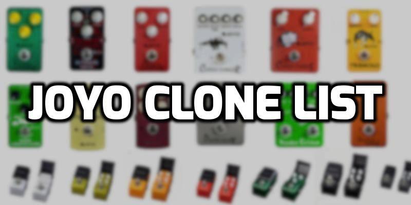 joyo pedals clone list