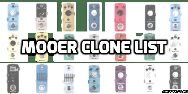 Mooer Pedals Review : mooer clone list and pedals review guitar pick zone ~ Russianpoet.info Haus und Dekorationen